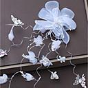 baratos Acessórios de Cabelo-Liga Decoração de Cabelo com Cristais / Flor de Cetim 1pç Casamento / Aniversário Capacete