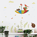 cheap Wall Stickers-Wall Decal Decorative Wall Stickers - Plane Wall Stickers Animals Re-Positionable Removable