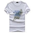 preiswerte Radtrikots-Herrn Geometrisch Buchstabe - Aktiv Grundlegend T-shirt