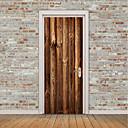 tanie Naklejki ścienne-Naklejki na drzwi - Naklejki ścienne lotnicze / Naklejki ścienne 3D Martwa natura / Arabeska Sypialnia / w pomieszczeniach
