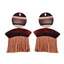 olcso Divat fülbevalók-Női Rojt Függők Francia kapcsos fülbevalók - Bojt, Vintage, Európai Zöld / Bor / Sötét tengerészkék Kompatibilitás Napi Klub
