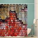 preiswerte Duschvorhänge-Duschvorhänge & Ringe Neoklassisch Polyester Neuheit Maschinell gefertigt Wasserfest