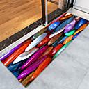 זול שטיחים-שטיחון לדלת כניסה / משטחים לאמבט / שטח שטיחים ספורט ושטח / קאנטרי פלנלית, מלבן איכות מעולה שָׁטִיחַ / החלקה ללא