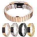 tanie Inteligentny zegarek Akcesoria-Watch Band na Fitbit Charge 2 Fitbit Zapięcie motylkowe Stal nierdzewna Opaska na nadgarstek
