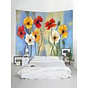 halpa Seinämaalaukset-Puutarha-teema Maisema Wall Decor 100% polyesteri Nykyaikainen Moderni Wall Art, Seinävaatteet Koriste