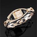 preiswerte Modische Uhren-ASJ Damen Armband-Uhr Japanisch Quartz Silber / Gold Armbanduhren für den Alltag Analog damas Luxus Elegant - Gold Silber Zwei jahr Batterielebensdauer / SSUO 377