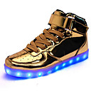 hesapli Erkek Sneakerları-Erkek Ayakkabı Suni Deri Bahar / Sonbahar Spor Ayakkabısı Dış mekan için Altın / Gümüş