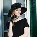 preiswerte Untersetzer Gastgeschenke-Polyester Hüte mit Schleife 1pc Besondere Anlässe / Party / Abend Kopfschmuck