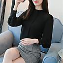 preiswerte Modische Broschen-Damen Solide-Geschäftlich Street Schick Hemd