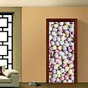 tanie Naklejki ścienne-Naklejki na drzwi - Naklejki ścienne 3D Krajobraz / 3D Salon / Sypialnia / Łazienka