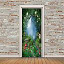 tanie Naklejki ścienne-Naklejki na drzwi - Naklejki ścienne lotnicze / Naklejki ścienne 3D Krajobraz / Kwiatowy / Roślinny w pomieszczeniach / Pokój dziecięcy
