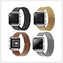 billige Smartklokke Tilbehør-Klokkerem til Fitbit Blaze Fitbit Milanesisk rem Metall Håndleddsrem