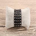 cheap Bracelets-Women's Leather Bracelet - Leather Bracelet Black For Gift Daily