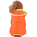 cheap Dog Clothes-Dog Rain Coat Dog Clothes Solid Colored Yellow Red Green Blue Pink Nylon Costume For Pets Men's Women's Waterproof