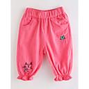 tanie Spodnie i getry-Brzdąc Dla dziewczynek Podstawowy Jendolity kolor Bawełna Spodnie