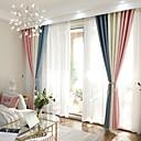 tanie Zasłony okienne-zasłony zasłony Salon Współczesne Bawełna / Poliester Drukowane