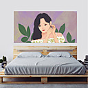 cheap Shoes Accessories-Decorative Wall Stickers - 3D Wall Stickers People Wall Stickers Princess 3D Living Room Bedroom Bathroom Kitchen Dining Room Study Room