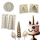 baratos Artigos de Forno-Ferramentas bakeware Silicone Multi funções Para utensílios de cozinha Moldes de bolos 5pçs