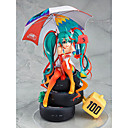 cheap Anime Action Figures-Anime Action Figures Inspired by Vocaloid Snow Miku 2018 PVC(PolyVinyl Chloride) CM Model Toys Doll Toy Men's Women's