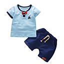 ieftine Seturi Îmbrăcăminte Băieți-Copii Băieți Mată Manșon scurt Set Îmbrăcăminte