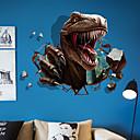 levne Samolepky na zeď-Ozdobné samolepky na zeď - Zvířecí nálepky na zeď Zvířata 3D Obývací pokoj Ložnice Koupelna Kuchyň Jídelna studovna či kancelář