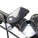 billige Bell & Låse & Mirrors-Forlygte til cykel LED Cykling Vandtæt Li-ion 240 lm Soldrevet / USB-drevet Camping / Vandring / Grotte Udforskning / Cykling