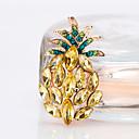 tanie Spinki i broszki-Damskie Broszki - Ananas Europejskie, Moda Broszka Złoty Na Prezent / Codzienny