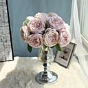 ieftine Flor Artificiales-Flori artificiale 5 ramură Flori de Nuntă / Pastoral Stil Trandafiri / Camellia Față de masă flori