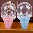 billige Smykkesett-Timeglass Iskrem Plast Harpiks Gaveholder med Inngravert Favoritt Esker