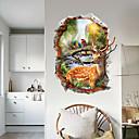 ieftine Acțibilde de Perete-Autocolante de Perete Decorative - Autocolante perete plane Animale #D Sufragerie Dormitor Baie Bucătărie Cameră de studiu / Birou