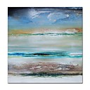 cheap Abstract Paintings-STYLEDECOR Modern Hand Painted Abstract Blue Sky Canvas Oil Painting Wall Art