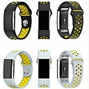 cheap Smartwatch Accessories-Watch Band for Fitbit Charge 2 Fitbit Sport Band Milanese Loop Silicone Wrist Strap