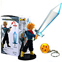 tanie Figurki Anime-Figurki Anime Zainspirowany przez Dragon Ball Son Goku Polichlorek winylu 21 cm CM Klocki Lalka Zabawka