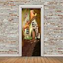 tanie Naklejki ścienne-Naklejki na drzwi - Naklejki ścienne lotnicze / Naklejki ścienne 3D Kształty / Kwiatowy / Roślinny Pokój dzecinny / Pokój dziecięcy