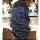 cheap Human Hair Wigs-Unprocessed Human Hair Lace Front Wig Peruvian Hair Wavy Wig Layered Haircut 130% Hair Density with Baby Hair Natural Hairline Black Women's Short Long Mid Length Human Hair Lace Wig Aili Young Hair