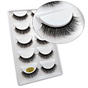 cheap Eyelashes-Eye 1 Natural Curly Smokey Makeup Cateye Makeup Fairy Makeup Party Makeup Halloween Makeup Daily Makeup Full Strip Lashes Make Up