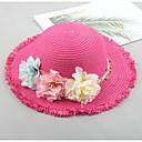 זול ילדים כובעים ומצחיות-מידה אחת בז' / פוקסיה / חאקי כובעים ומצחיות אחיד / פרחוני / פרחוני  בוטני יומי פעיל בנות תינוק