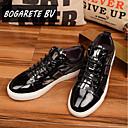 זול סניקרס לגברים-בגדי ריקוד גברים עור קיץ נוחות נעלי אוקספורד שחור
