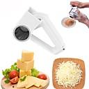 baratos Utensílios de Ovo-Utensílios de cozinha Aço Inoxidável + Plástico ABS Gadget de Cozinha Criativa Peeler & Grater para Chocolate / para Cheese 1pç