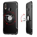 olcso Köszönetajándék tartók-Case Kompatibilitás Huawei P20 Pro / P20 lite Tartó gyűrű / Páncél Fekete tok Egyszínű Kemény PC mert Huawei P20 / Huawei P20 Pro / Huawei P20 lite / P10 Plus / P10 Lite / P10