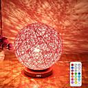baratos Faixas de Luzes LED-HKV 1pç LED Night Light RGB Regulável / De cabeceira / Decoração 85-265V