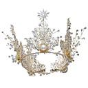 tanie Zestawy narzędzi-Stop Tiary / Stroik z Kryształ górski / Sztuczna perła 1 sztuka Ślub / Specjalne okazje Winieta