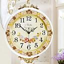 abordables Pendientes-Europeo Cobre envejecido Redondo Reloj Interior,5W Reloj artesanal
