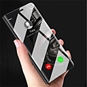 cheap Cell Phone Cases & Screen Protectors-Case For Samsung Galaxy J5 (2017) / J2 PRO 2018 with Stand / Mirror / Flip Full Body Cases Solid Colored Hard PC for J7 (2017) / J5