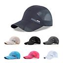 זול Clothing Accessories-כובע קיץ ייבוש מהיר / נשימה צעידה / טיפוס / לטייל יוניסקס רשת אחיד