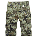 cheap Men's Oxfords-Men's Military / Street chic Shorts / Sweatpants Pants - Camouflage