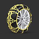 abordables Interruptores para Coche-2pcs Coche Cadenas de nieve Común Tipo de hebilla For Llanta de carro For Universal Todos los modelos Todos los Años