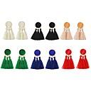 preiswerte Büro- und Schulartikel-Quaste Tropfen-Ohrringe - Quaste, Modisch Rot / Rosa / Dunkelgrün Für Party Verabredung