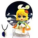 tanie Figurki Anime-Figurki Anime Zainspirowany przez Cosplay Kagamine Rin Polichlorek winylu 10 cm CM Klocki Lalka Zabawka