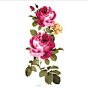 cheap Bracelets-5 pcs Tattoo Stickers Temporary Tattoos Flower Series Body Arts Face / Body / Hand